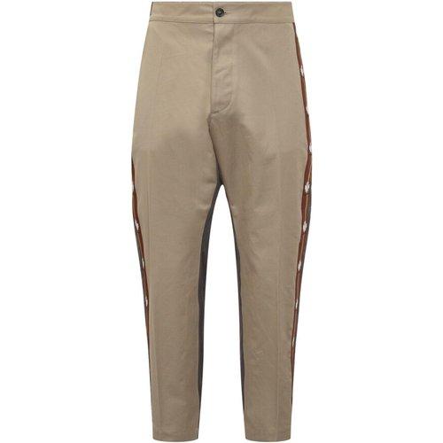 Two-tone straight-leg trousers , , Taille: 44 IT - Dsquared2 - Modalova