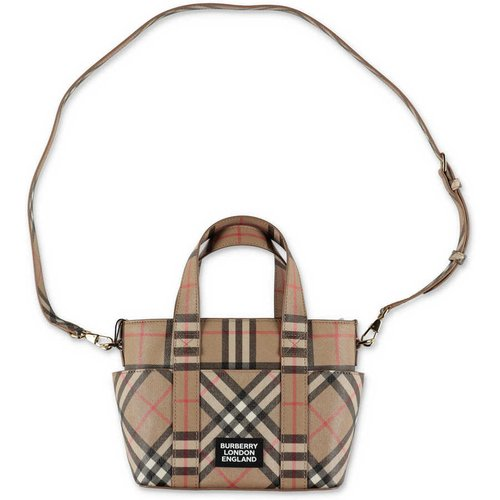 Vintage Check faux leather Daphne cross body bag , unisex, Taille: Onesize - Burberry - Modalova