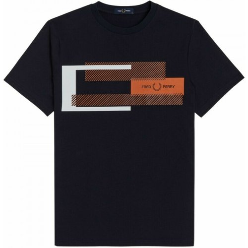 Mixed Boxed T-shirt , , Taille: XL - Fred Perry - Modalova