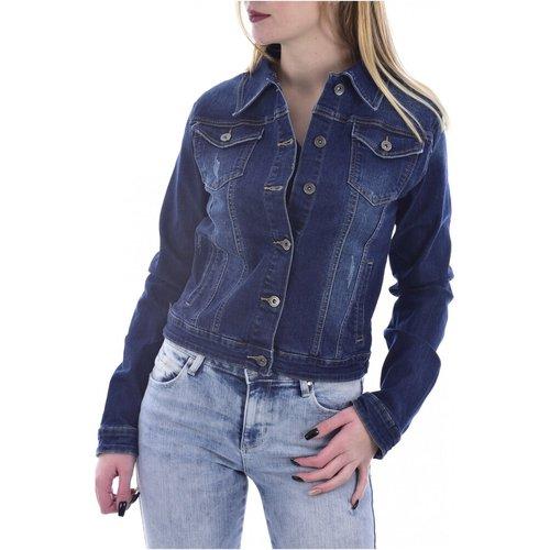 Blouson en jean stretch , , Taille: L - Goldenim paris - Modalova