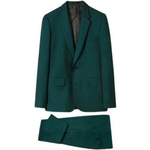 Men's Tailored-Fit Wool 'A Suit To Travel In' , , Taille: 52 - Paul Smith - Modalova