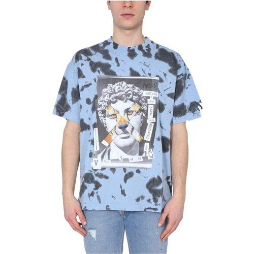 Crew Neck T-Shirt - Versace Jeans Couture - Modalova
