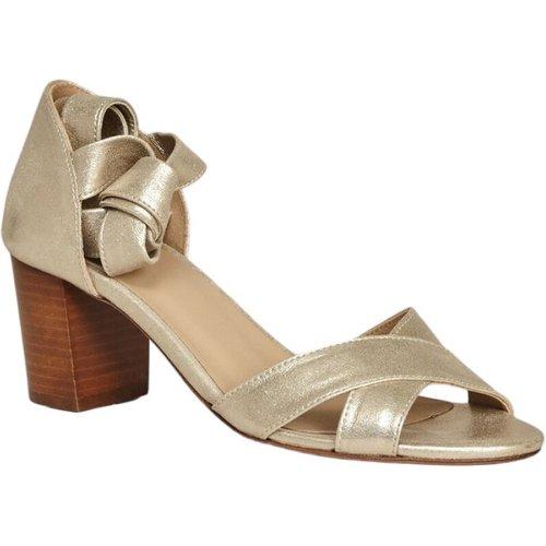 La Papillonneuse leather sandals - Bobbies Paris - Modalova