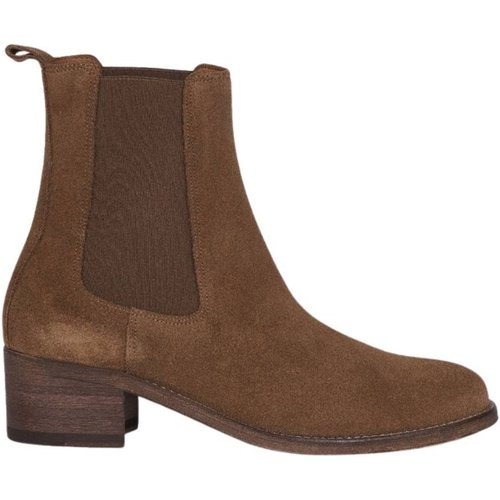 Suede leather chelsea boots - Anthology Paris - Modalova