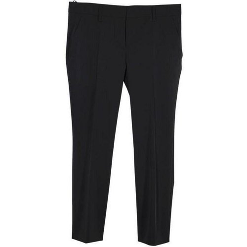 Poly Techno Fabric Tailored Trousers Pants Size 44 - Prada Vintage - Modalova