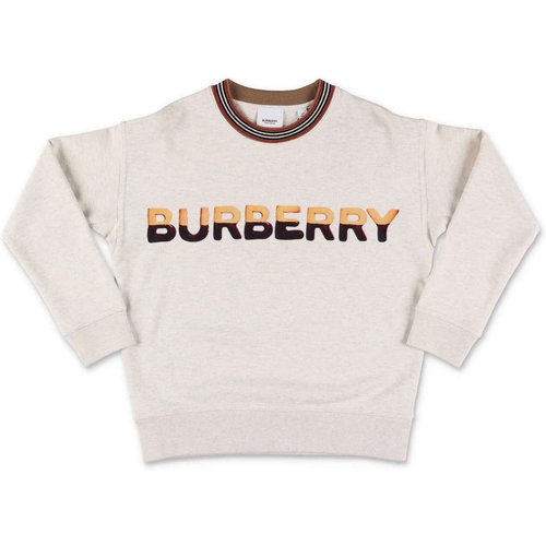 Sweat-shirt avec logo imprimé - Burberry - Modalova