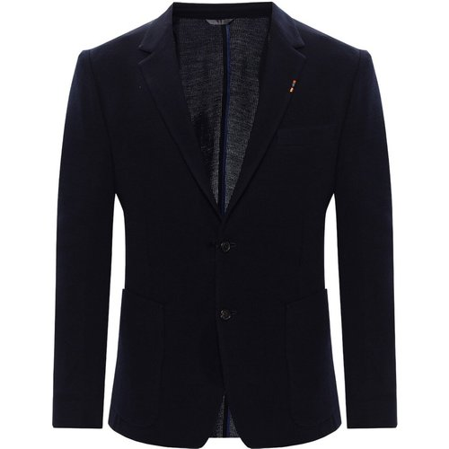 Wool blazer with notch lapels - Paul Smith - Modalova