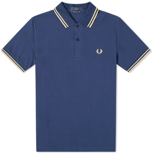 Reissues Original Twin Tipped Polo , , Taille: 40 - Fred Perry - Modalova