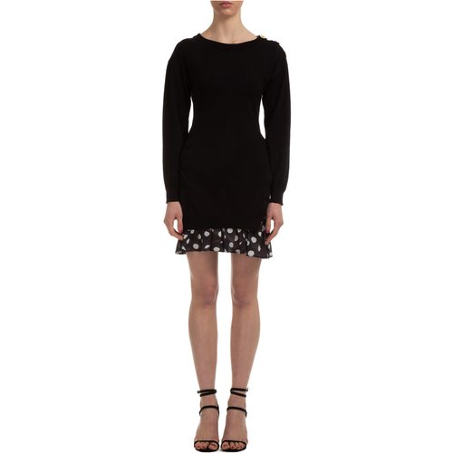 Short mini dress long sleeve - Boutique Moschino - Modalova