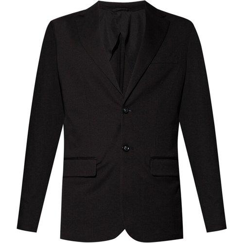 Blazer with notch lapels , , Taille: 52 IT - Emporio Armani - Modalova