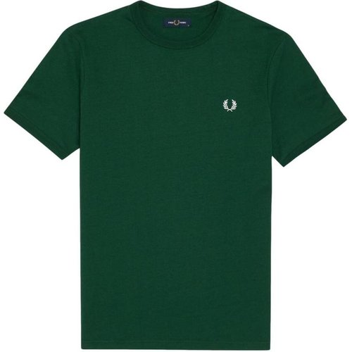 M3519 T-Shirt Men Green , , Taille: M - Fred Perry - Modalova