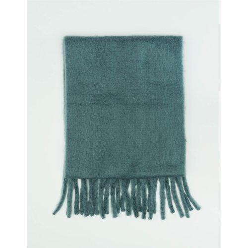 Écharpe Longue Bleue à Pampilles - TW - Modalova