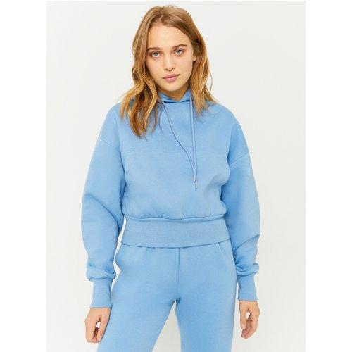 Sweat à Capuche Bleu - Tw - Modalova