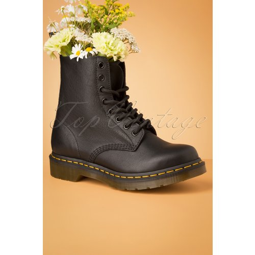 Virginia Ankle Boots en Noir - Dr. Martens - Modalova