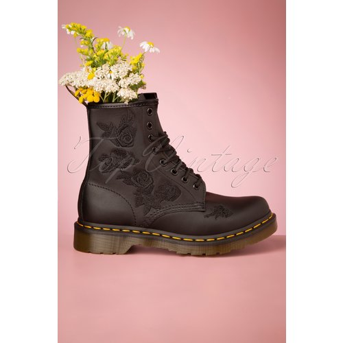 Vonda Softie Floral Boots en - Dr. Martens - Modalova