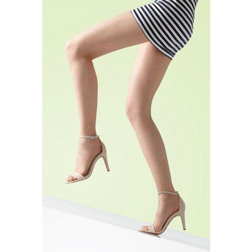 Better Than Bare Luxury Sandal Toe Tights Années 50 en Éclat Naturel - gipsy - Modalova