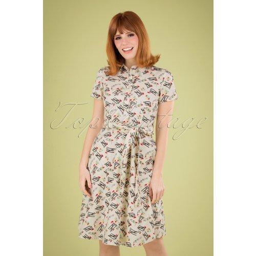 Debbie Mail Dress Années 60 en - Pretty Vacant - Modalova