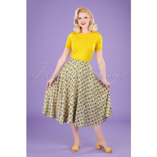 Hilda Tails Swing Skirt Années 60 en et - Pretty Vacant - Modalova