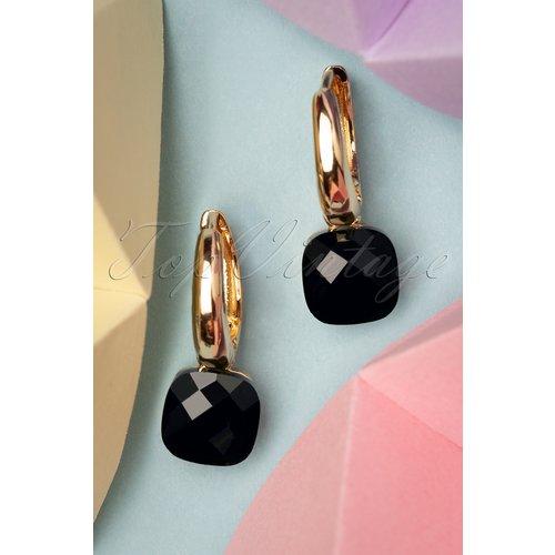Eleanor Earrings Années 50 en et Doré - glamfemme - Modalova