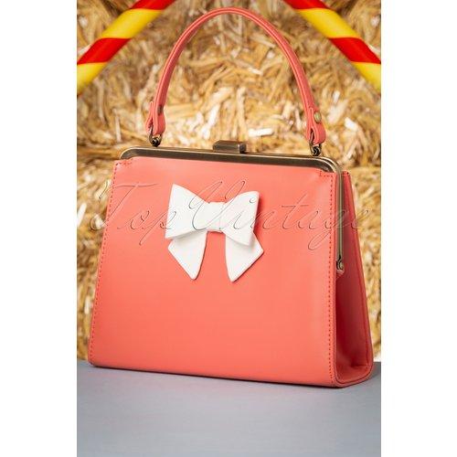 Inez Sweet Treat Bag Années 50 en Corail - Lola Ramona ♥ TopVintage - Modalova