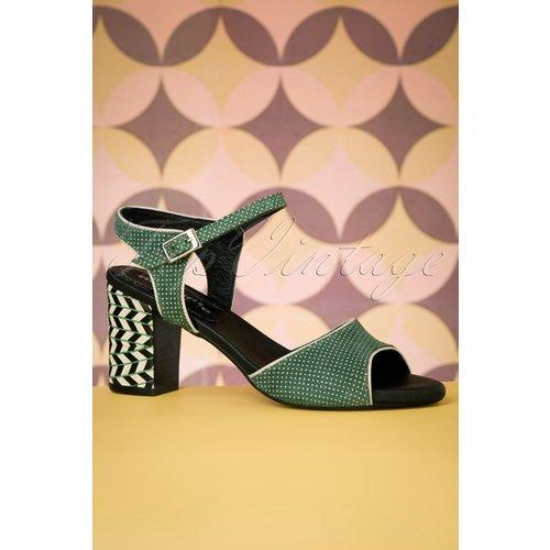 Topos Leather Sandals Années 60 en - Nemonic - Modalova