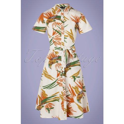 Debbie Parrot Dress Années 60 en - Pretty Vacant - Modalova