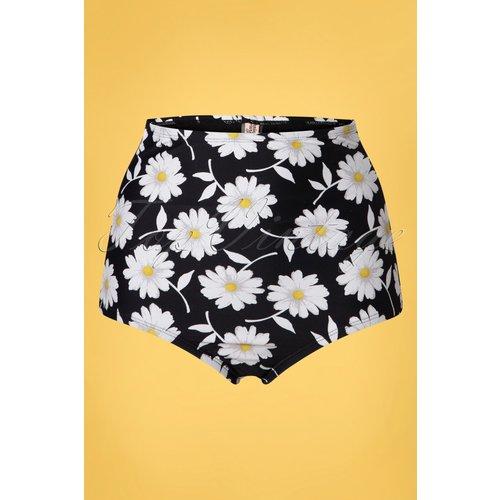 Louise High Waist Floral Bikini Bottoms Années 50 en et - unique vintage - Modalova