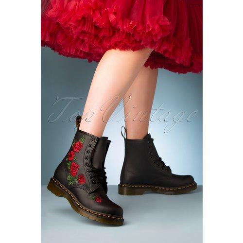 Vonda Softie Red Floral Boots en - Dr. Martens - Modalova
