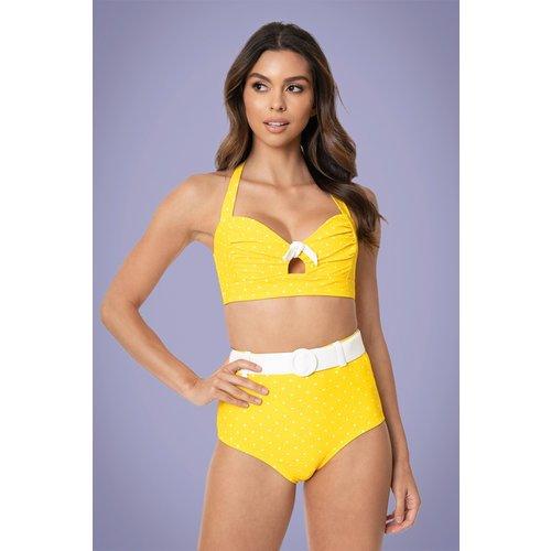 Mrs. West Halter Bikini Top Années 50 en et - unique vintage - Modalova