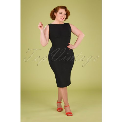 April Pencil Dress Années 50 en - Zoe Vine - Modalova