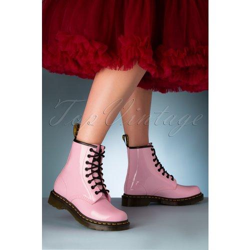 Lamper Patent Ankle Boots en Pâle - Dr. Martens - Modalova