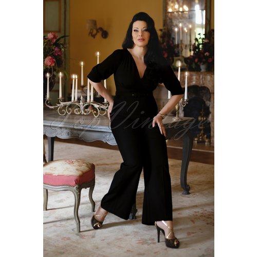 Combinaison The Donna en Noir - Vintage Diva - Modalova