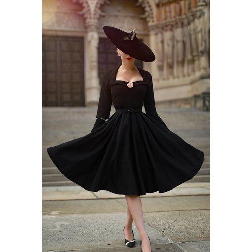 Robe Corolle The Jayne en Noir - Vintage Diva - Modalova