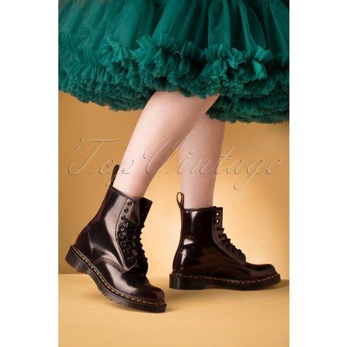 Arcadia Patent Ankle Boots en Cerise - Dr. Martens - Modalova