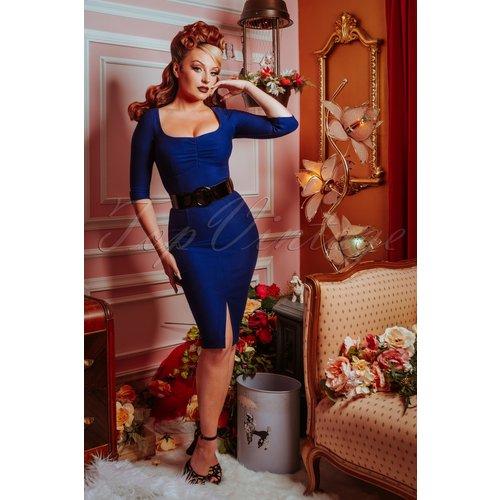 Robe Crayon Darlene Années 50 en Roi - glamour bunny - Modalova