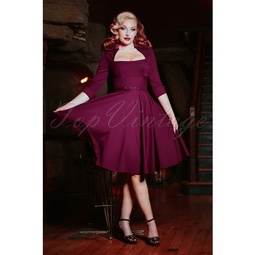 Lorelei Swing Dress Années 50 en Baie-licieux - glamour bunny - Modalova