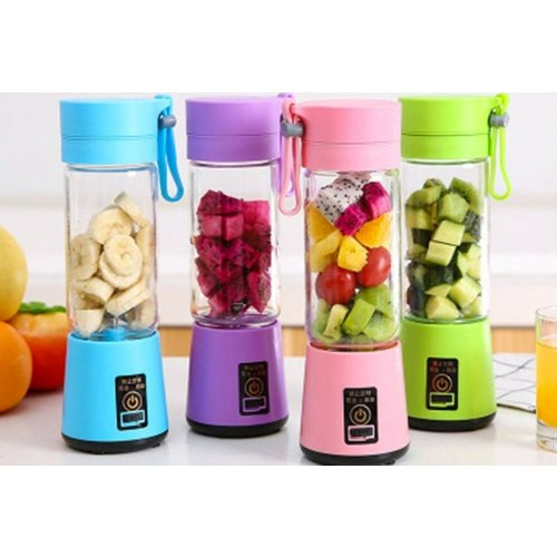 £12.99 instead of £29.99 (from Pinkpree) for a four-blade portable blender - choose from four colours and save 57%