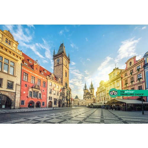A Prague, Czech Republic hotel stay with breakfast and return flights from six airports. From £129pp for two nights, from £179pp for three nights, or from £219pp for four nights - save up to 35%