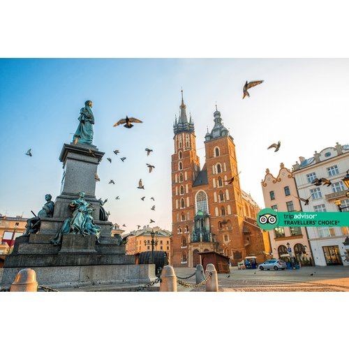 A Krakow, Poland hotel stay with breakfast and return flights from four airports. From £79pp for two nights, from £129pp for three nights, or from £159pp for four nights - save up to 46%