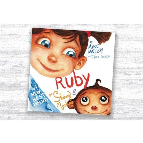 HALF PRICE! Personalised Ruby & the Skinny Monkey Children's Book