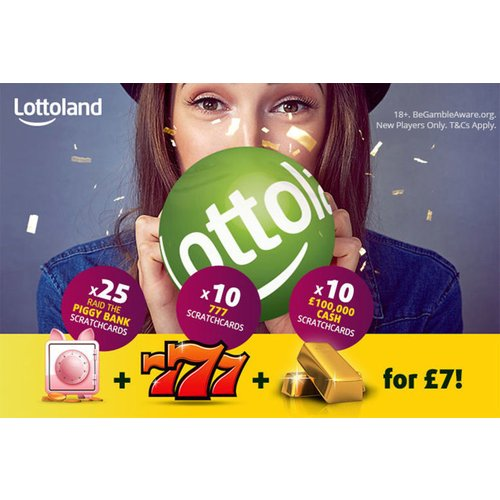 45 Online Scratchcards from Lottoland