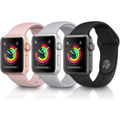 Save 48% - Apple Watch Series 3 w/Screen Protector Option - 38mm or 42mm