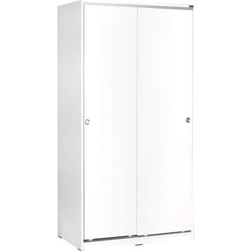 Save 40% - Two Door Sliding Wardrobe - White, Sonoma or Latte!