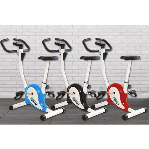 Save 57% - IM Fitness Compact Exercise Bike - Black, Yellow, Blue or Red