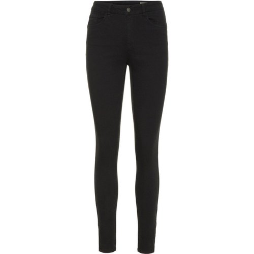Vmseven Cropped Normal Waist Jean Slim Women - Vero Moda - Modalova
