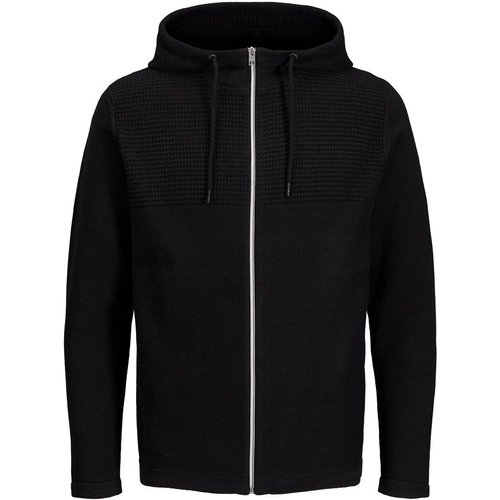 Zippé Cardigan Men black - jack & jones - Modalova