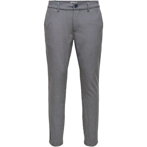 Classique Pantalon Men grey - Only & Sons - Modalova