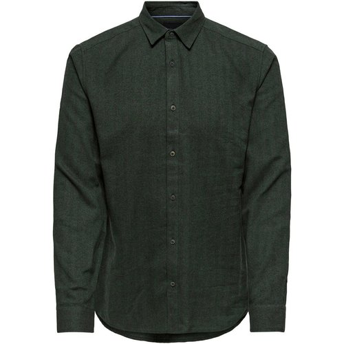 Coupe Slim Chemise Men green - Only & Sons - Modalova