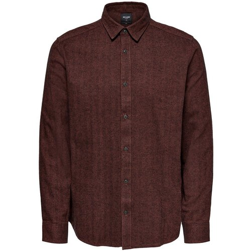 Coupe Slim Chemise Men red - Only & Sons - Modalova