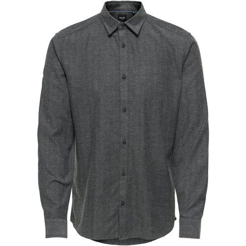 Coupe Slim Chemise Men grey - Only & Sons - Modalova